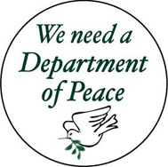 department of peace button