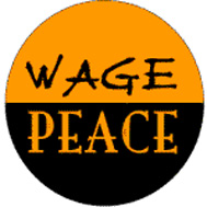 wage peace button